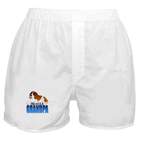 Beagle Grandpa Boxer Shorts
