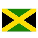 Flag of Jamaica Postcards (Package of 8)