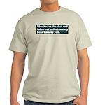 Let Down Light T-Shirt