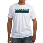 Let Down Fitted T-Shirt
