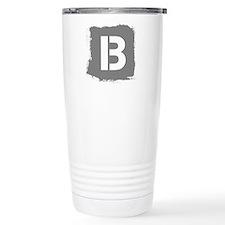 Initial Letter B. Travel Mug