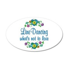 Line Dancing to Love Wall Decal