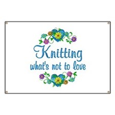 Knitting to Love Banner