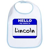 hello my name is lincoln  Bib