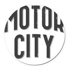 Motor City 2800 x 2800 copy Round Car Magnet