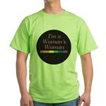 WOMAN'S WOMAN Green T-Shirt
