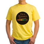 WOMAN'S WOMAN Yellow T-Shirt