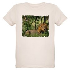 """Big African Lion"" Ash Grey T-Shirt"