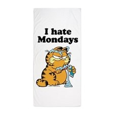 I Hate Mondays Beach Towel