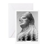 Greek Statue Greeting Cards (Pk of 10)