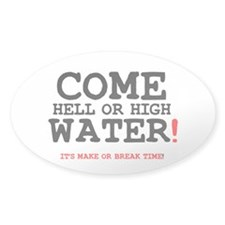 COME HELL OR HIGH WATER! Z Bumper Stickers