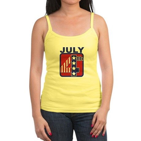 July 4th Jr. Spaghetti Tank