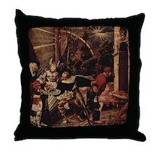 Beheaded John Throw Pillow