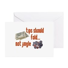 Tips should fold Greeting Cards (Pk of 10)