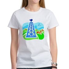 Women's Oil Field T-Shirt