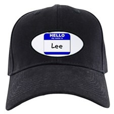 hello my name is lee Baseball Hat