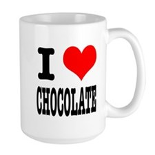 I Heart (Love) Chocolate Mug