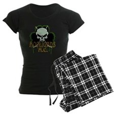 Skull Hockey Sticks Pajamas