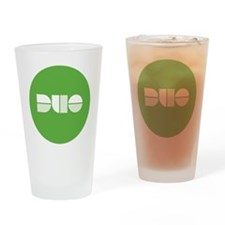 Duo Circle Drinking Glass
