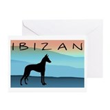 Ibizan Blue Mountains Greeting Cards (Pk of 10