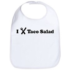I Eat Taco Salad Bib