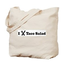I Eat Taco Salad Tote Bag