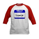 hello my name is lance Tee