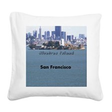 SanFrancisco_5X7_Card_Alcatra Square Canvas Pillow