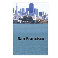 SanFrancisco_5.415x7.9688 Postcards (Package of 8)