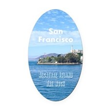 SanFrancisco_5.5x8.5_Journal_Alcat Oval Car Magnet