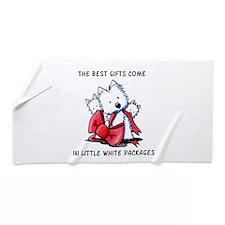 Westie Gift Beach Towel