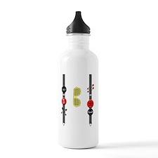 Punk Suspenders Water Bottle