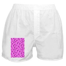 Pink and Purple Polka Dots Boxer Shorts