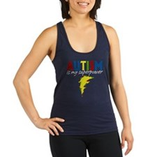 Autism is my Superpower Racerback Tank Top