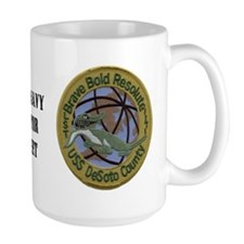 1171 Oval Ship Gator Desoto Patch Coffee Mug