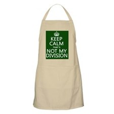 Keep Calm That's Not My Division Apron