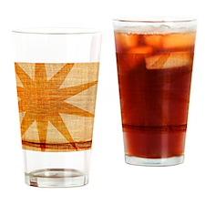 Sunburst Drinking Glass