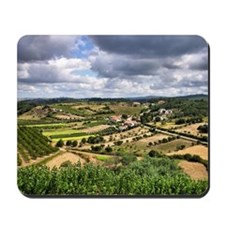 Countryside landscape of Mousepad