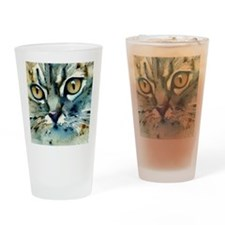 Carmen Cat by Lori Alexander Drinking Glass