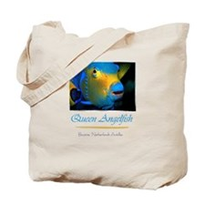 Queen Angelfish Tote Bag