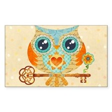 Owls Summer Love Letters Decal