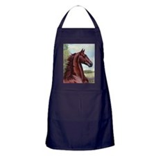 The Prince by Jeanne Newton Schoborg Apron (dark)
