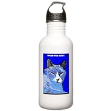 I Purr the Blues Sports Water Bottle