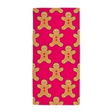 'Gingerbread Men' Beach Towel