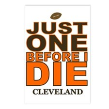 Just One Before I Die Cle Postcards (Package of 8)