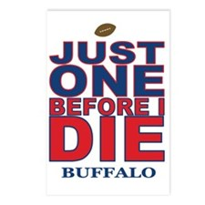 Just One Before I Die Buf Postcards (Package of 8)