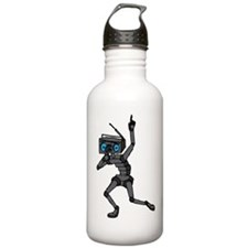 Musical Robot Water Bottle