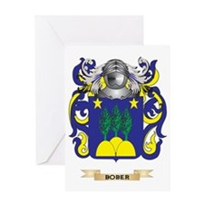 Bober Coat of Arms Greeting Card