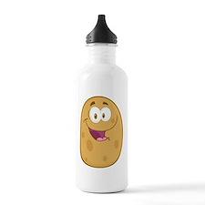 cute tater potato cart Water Bottle