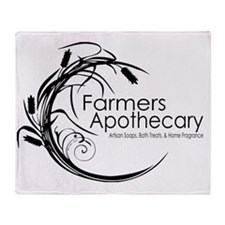 Apothecary Logo - Light Throw Blanket